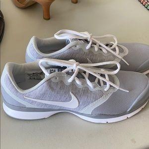 Grey Nike Trainers Size 9.5
